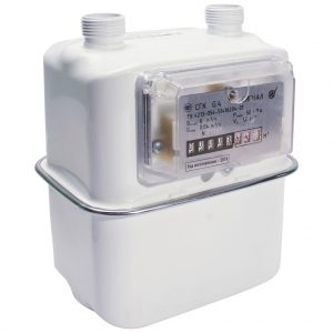 Счетчик газа СГК-G4   1″ левый