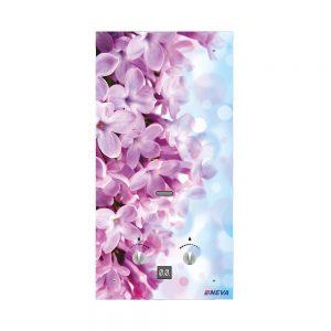 Водонагреватель газовый NEVA 4510 G (цветы розовые)