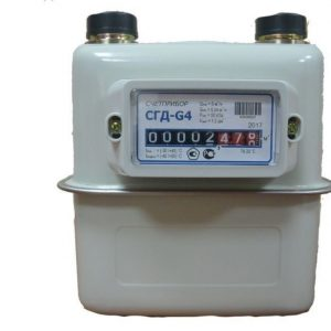 Счетчик газа СГД-G4 левый