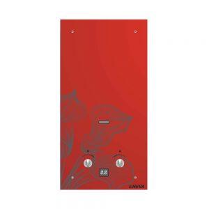 Водонагреватель газовый NEVA 4510 G (красный цветок)