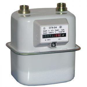Счетчик газа СГК-G4  30*2 левый