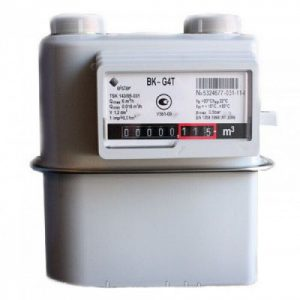 Счетчик газа BK-G4T левый