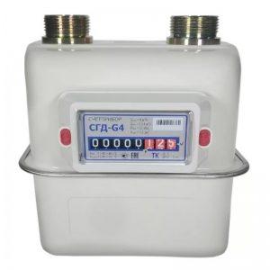 Счетчик газа СГД-G4T левый