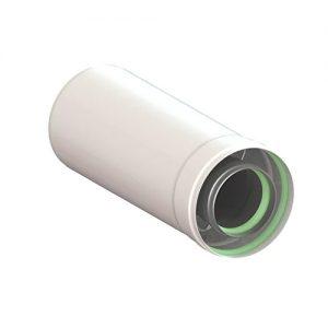 Удлинитель коаксиального дымохода (Ø60/100 — 250ММ.) универсальный для всех настенных газовых котлов