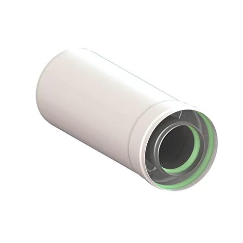 Удлинитель коаксиального дымохода (Ø60/100 - 250ММ.) универсальный для всех настенных газовых котлов
