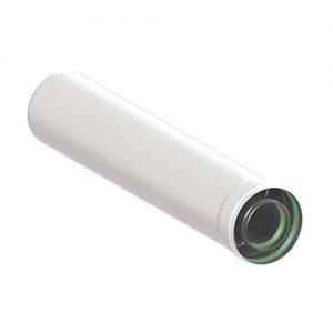 Удлинитель коаксиального дымохода (Ø60/100 — 500ММ.) универсальный для всех настенных газовых котлов