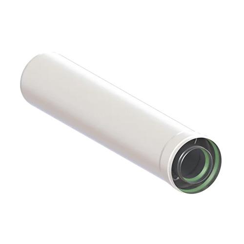 Удлинитель коаксиального дымохода (Ø60/100 - 500ММ.) универсальный для всех настенных газовых котлов