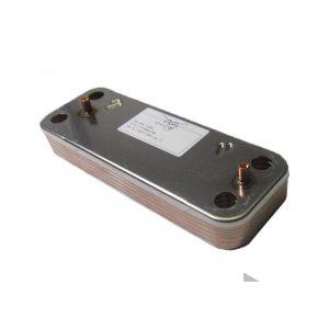 Теплообменник ГВС пластинчатый вторичный на 10 пластин для BAXI Eco 4S